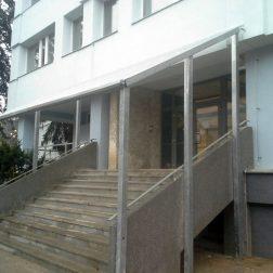 Zastřešení schodiště